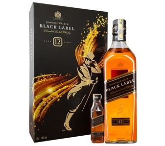 RƯỢU JOHNNIE WALKER BLACK HỘP QUÀ 2017 (750ML / 40%)
