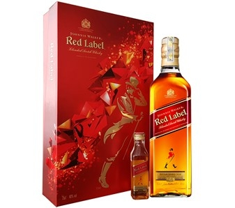 RƯỢU JOHNNIE WALKER RED HỘP QUÀ 2017 (750ML / 40%)