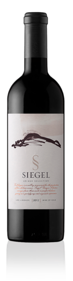 R vang chile .SIEGEL UNIQUE SELECTION 2012