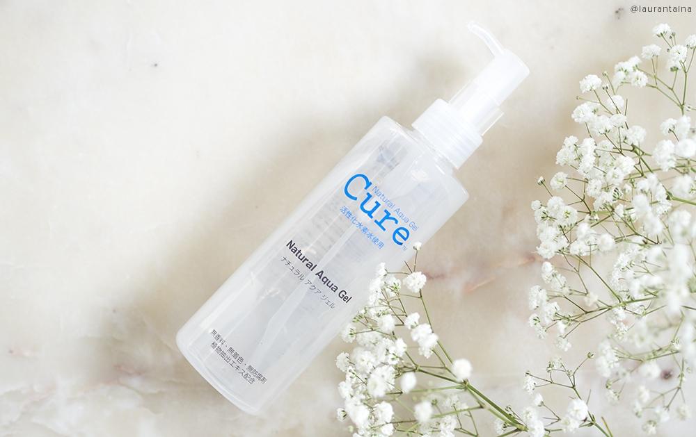 Kết quả hình ảnh cho Tẩy Tế Bào Chết Cure Natural Aqua Gel