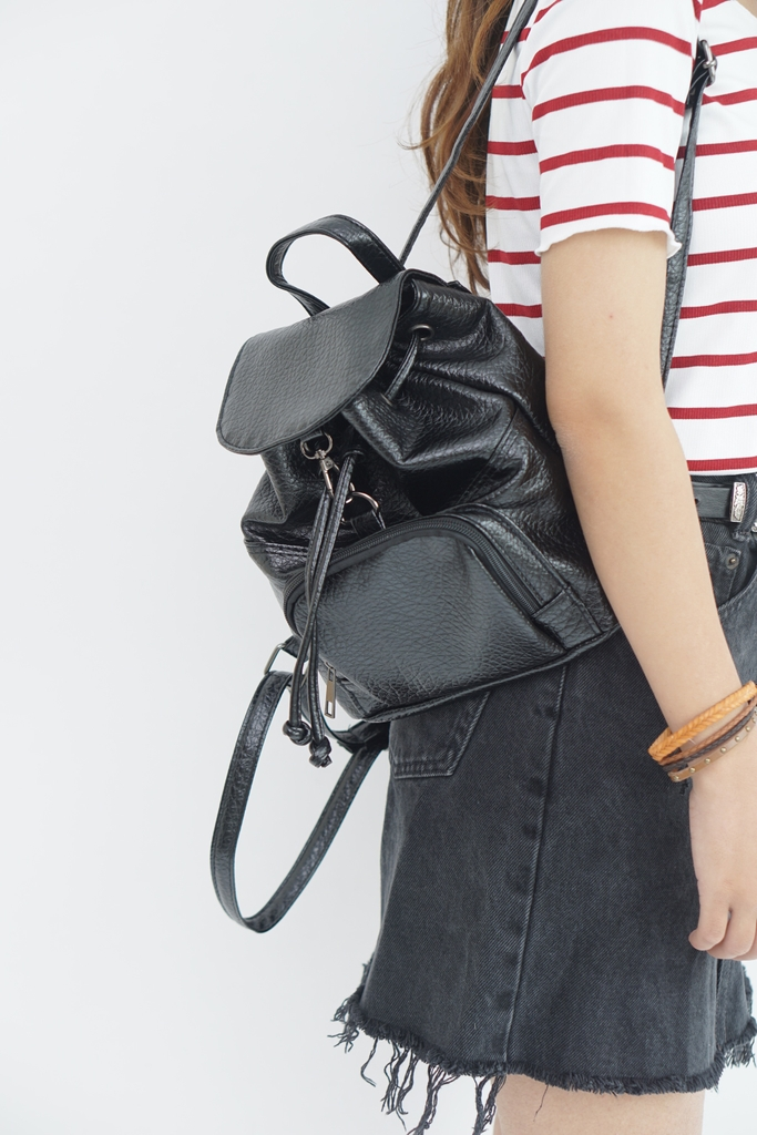 Backpack black S