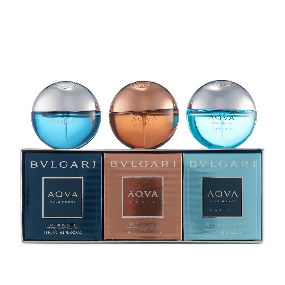 Gift Set Bvlgari Aqva 15ml