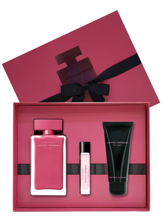 Gift Narciso Rodriguez Fleur Musc Edp 100Ml + Body Lotion 75Ml + Edp 10Ml