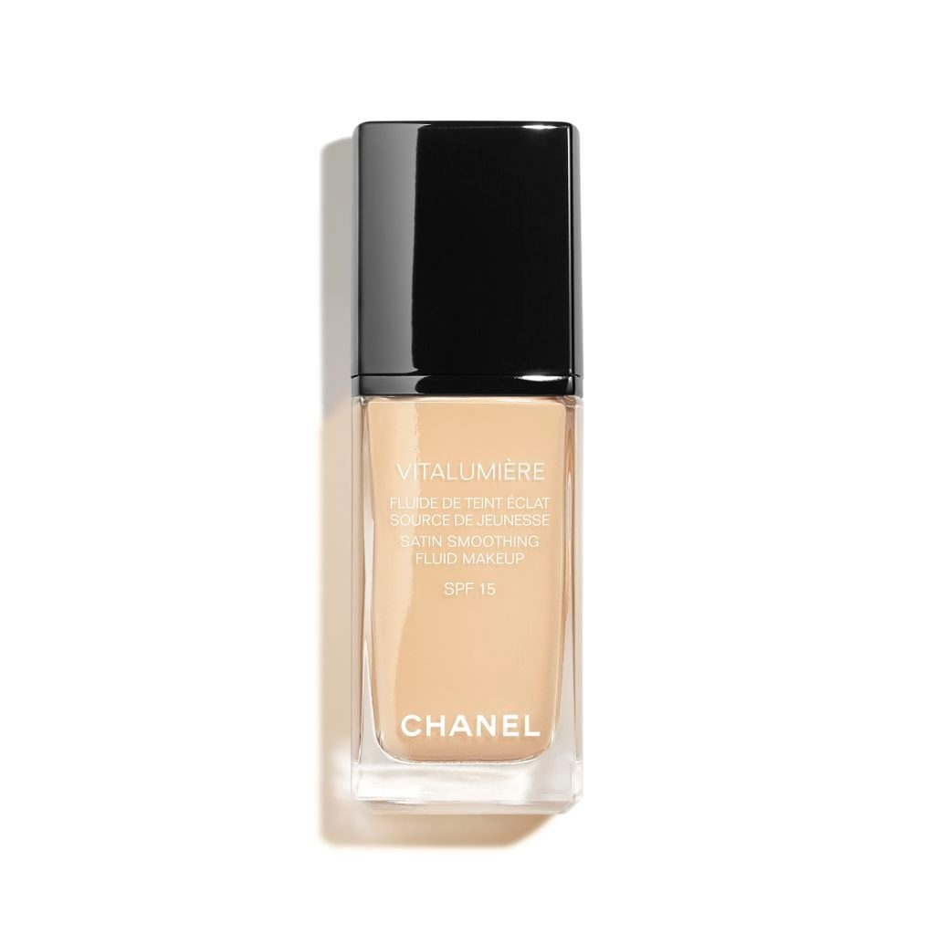 Kem Nền Chanel Vitalumiere Moisture Rich Radiance Sunscreen Fluid Makeup SPF 15