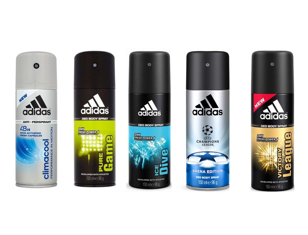 Xịt Khử Mùi Adidas Deo Body Spray 150ml