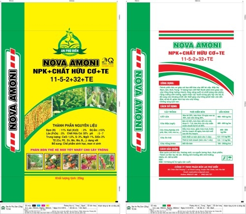 Packaging Fertilizer