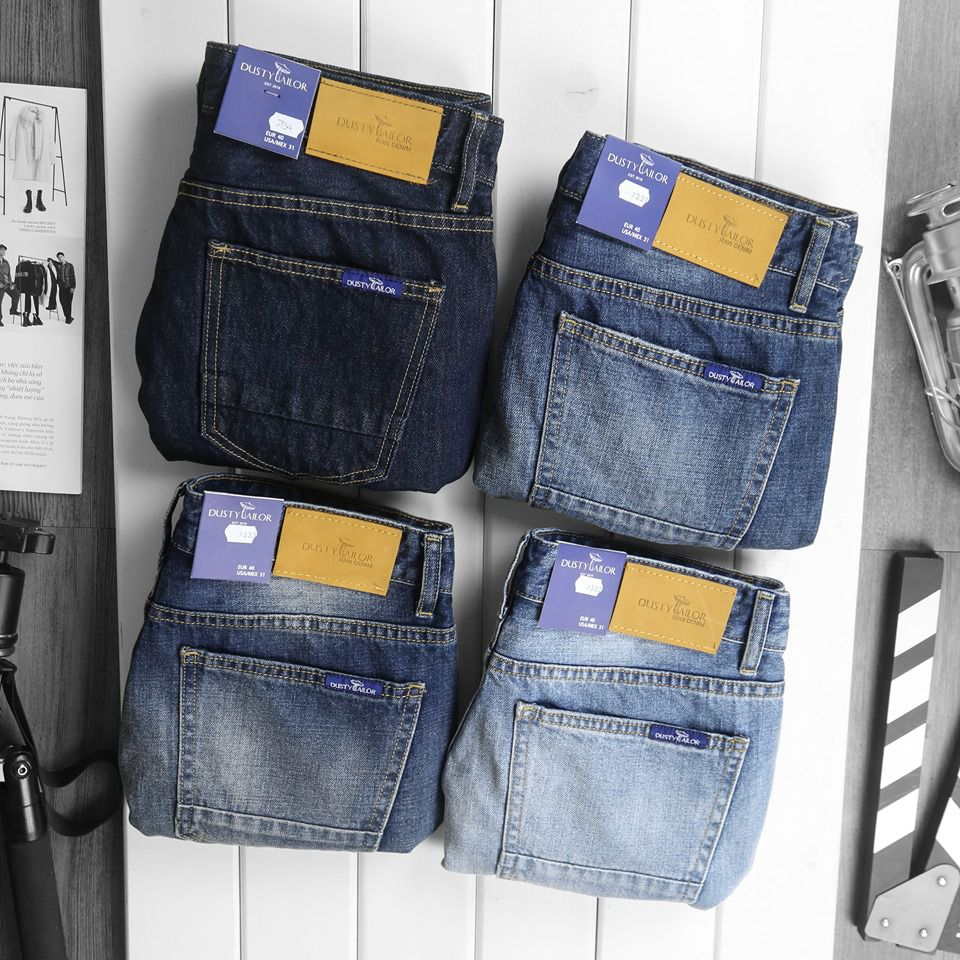 Quần short jean Dusty Tailor Wash up