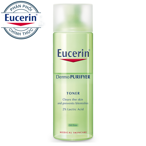 Eucerin Pro ACNE Solution Acne & Make-up Cleansing Water Nước Tẩy Trang Da Mụn (200ml)