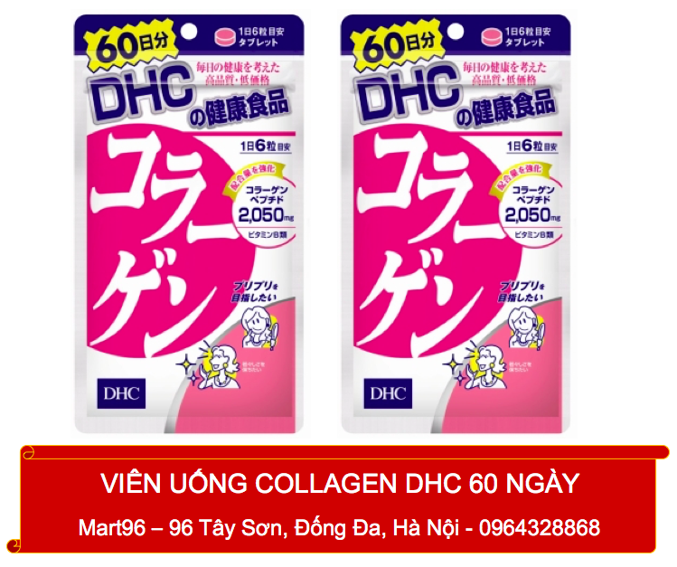 Collagen DHC 2050mg 60 Ngày