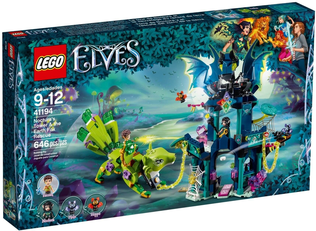 Đồ chơi lắp ráp LEGO Elves 41194 - Tòa Tháp Ma Thuật của Noctura (LEGO Elves 41194 Noctura's Tower & the Earth Fox Rescue)