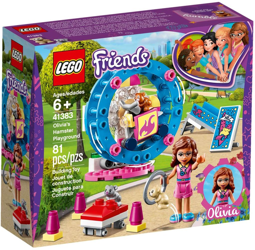 LEGO Friends 41383 - Những Chú Chuột Hamster của Olivia (LEGO 41383 Olivia's Hamster Playground)