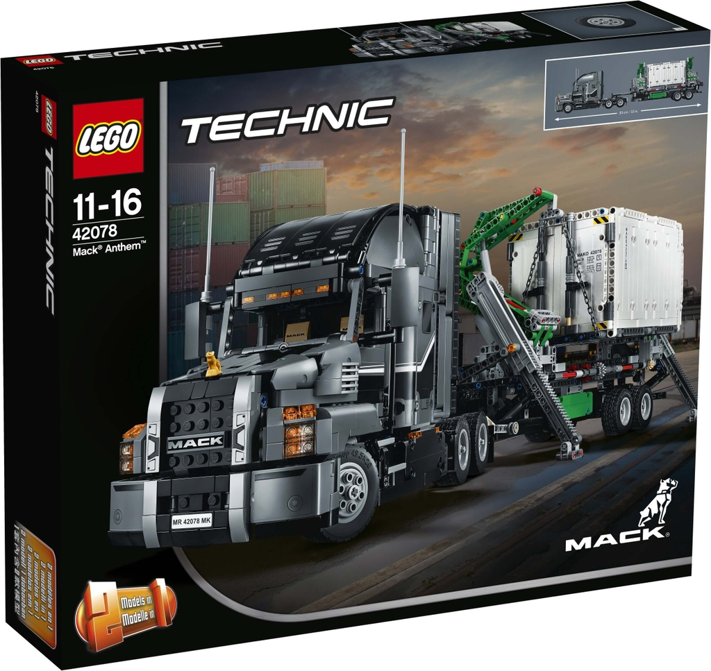 LEGO Technic 42078 - Xe Tải Mack Anthem (LEGO Technic 42078 Mack Anthem)