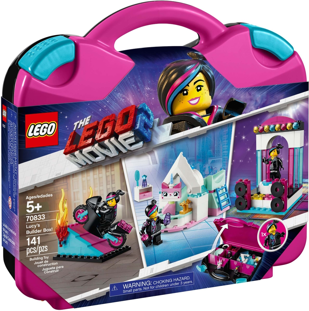 Đồ chơi LEGO The LEGO Movie 70833 - Hộp Gạch Sáng Tạo của Lucy (LEGO 70833 Lucy's Builder Box!)