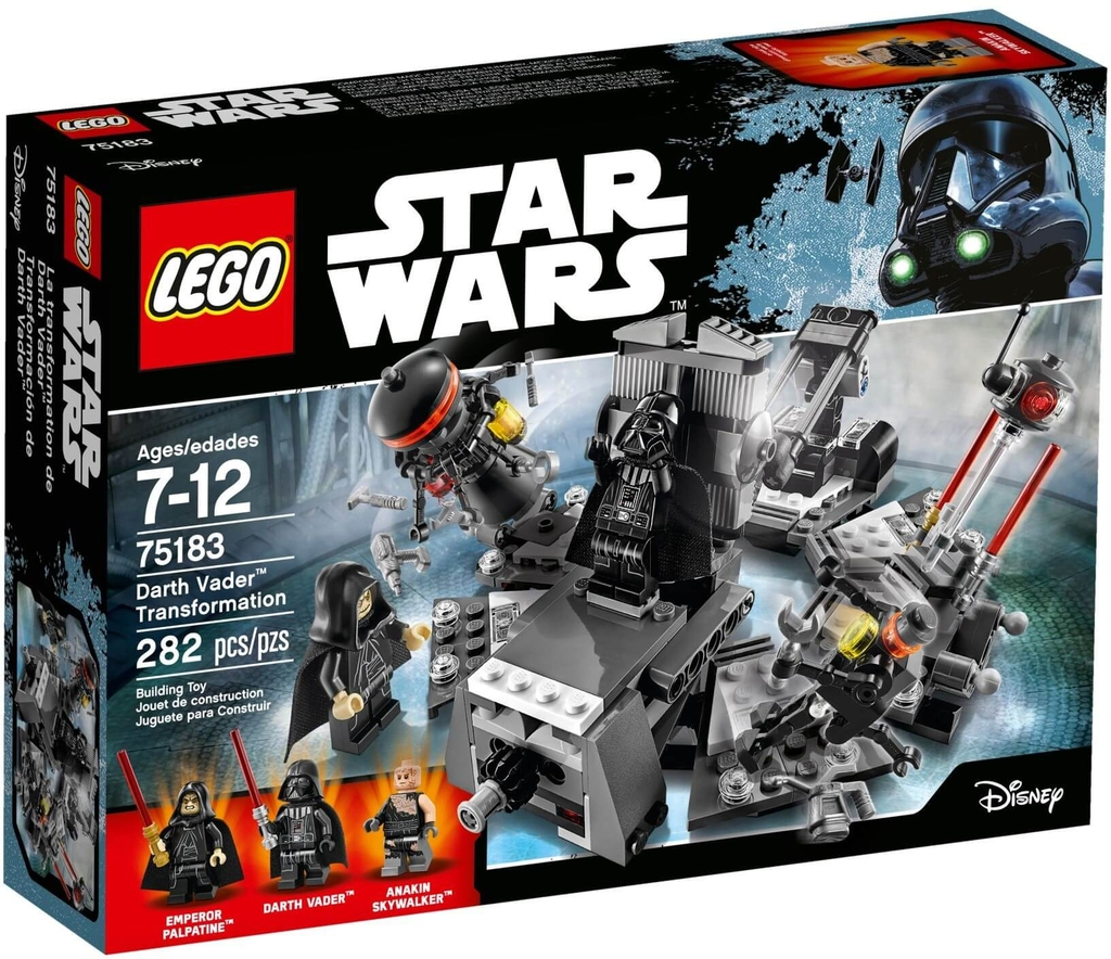 LEGO Star Wars 75183 - Darth Vader tái sinh từ Anakin Skywalker (LEGO Star Wars Darth Vader Transformation)