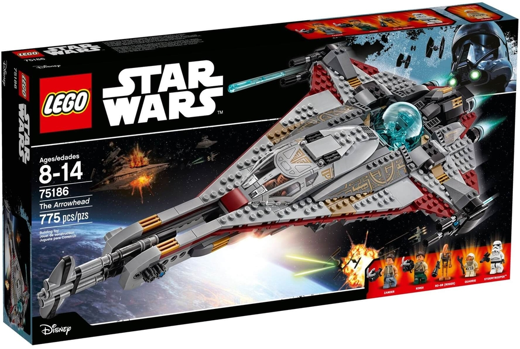 LEGO Star Wars 75186 - Phi Thuyền Arrowhead (LEGO Star Wars The Arrowhead)
