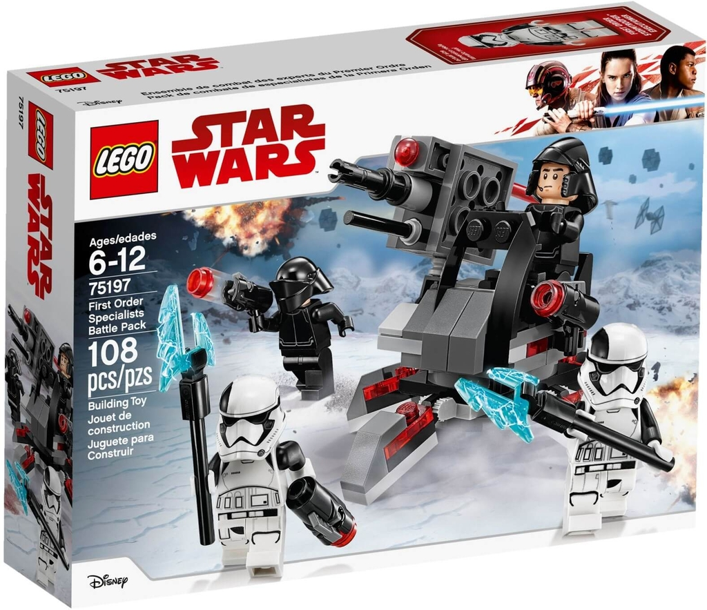 LEGO Star Wars 75197 - Đội Đặc Nhiệm First Order (LEGO Star Wars 75197 First Order Specialists Battle Pack)
