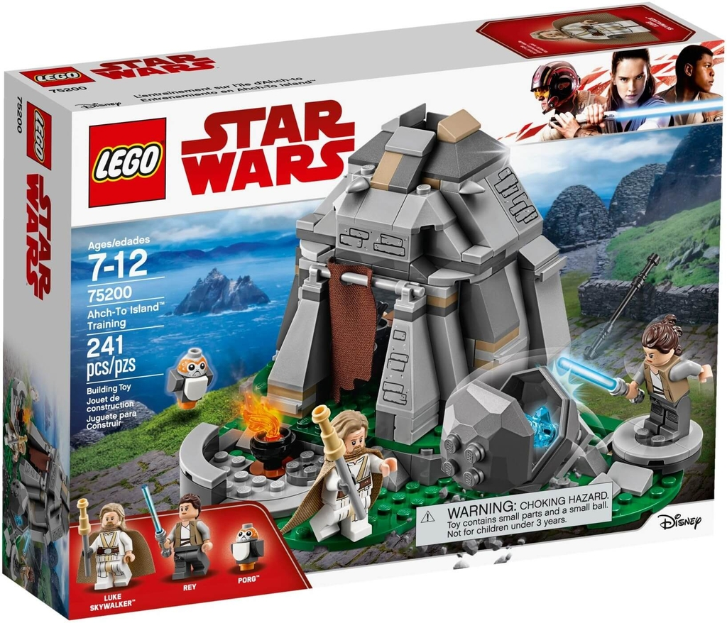 LEGO Star Wars 75200 - Rey và Luke trên đảo Ahch-To (LEGO Star Wars 75200 Ahch-To Island Training)