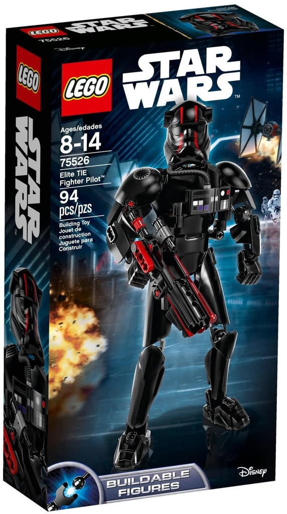 LEGO Star Wars 75526 - Phi Công Máy Bay TIE - Elite TIE Fighter Pilot