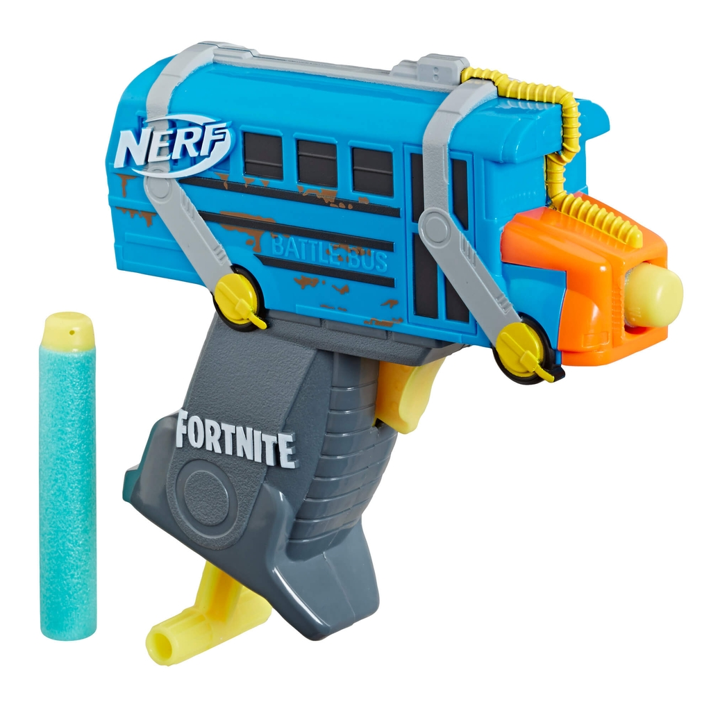 (Mã: E6752) Súng NERF Fortnite MicroShots Battle Bus