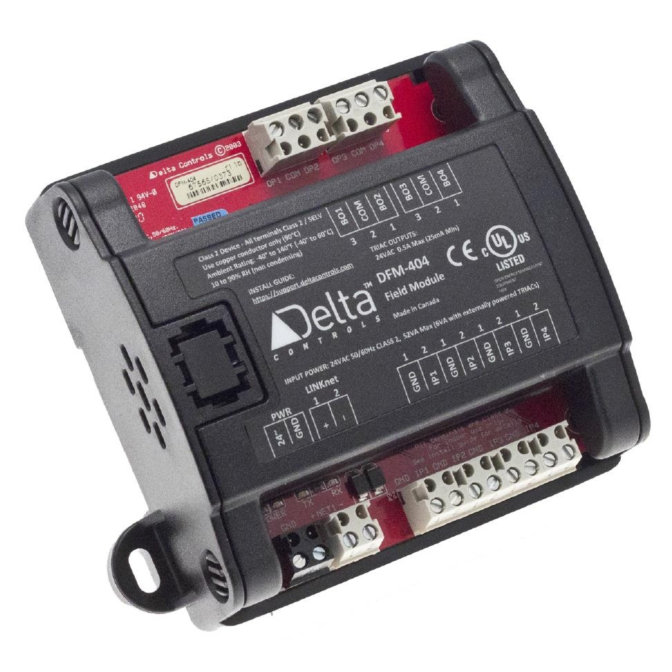 DFM-4xx;he thong bms; delta controls; johnson controls