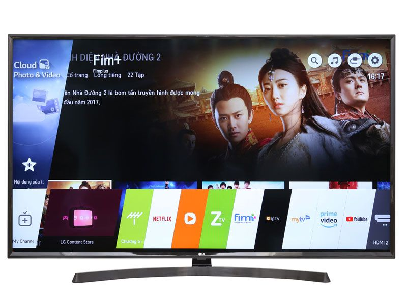Smart TiVi LG 4K 55inch 55UK6340