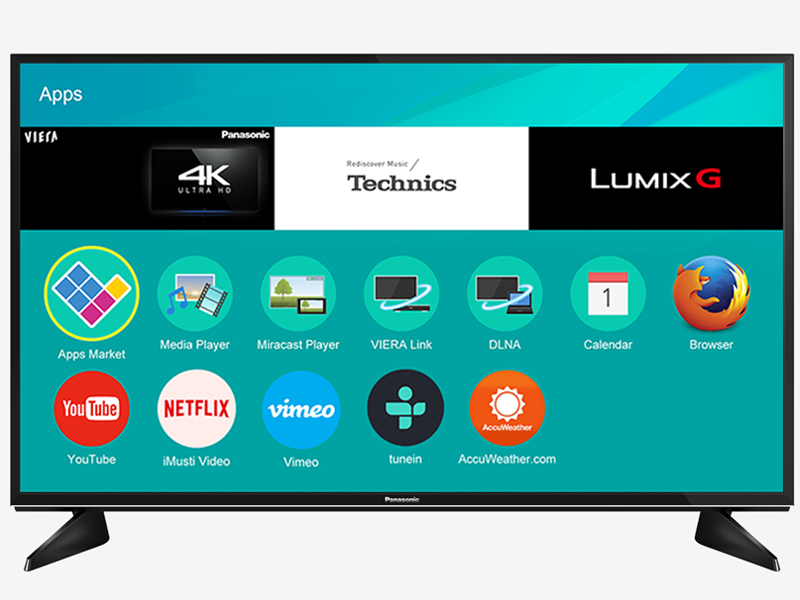 Smart TV Panasonic 4K 55inch 55EX600V