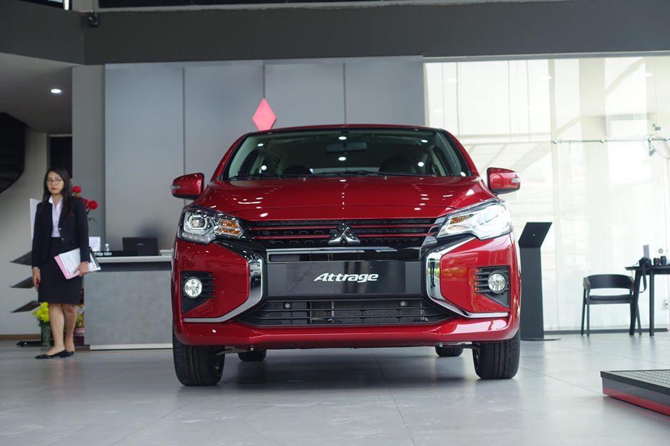 ngoại thất xe mitsubishi attrage 2020