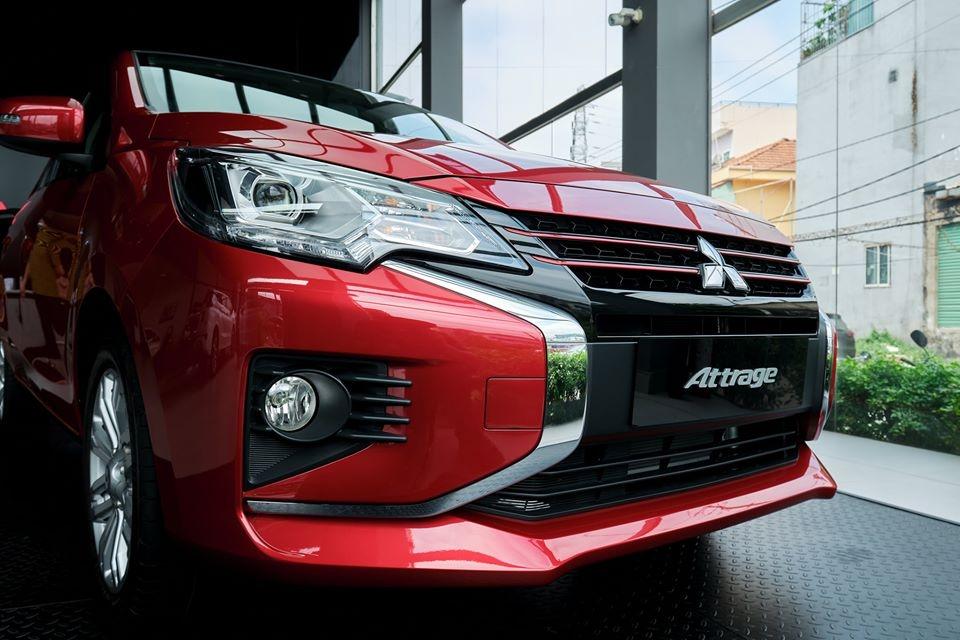 đầu xe mitsubishi attrage 2020