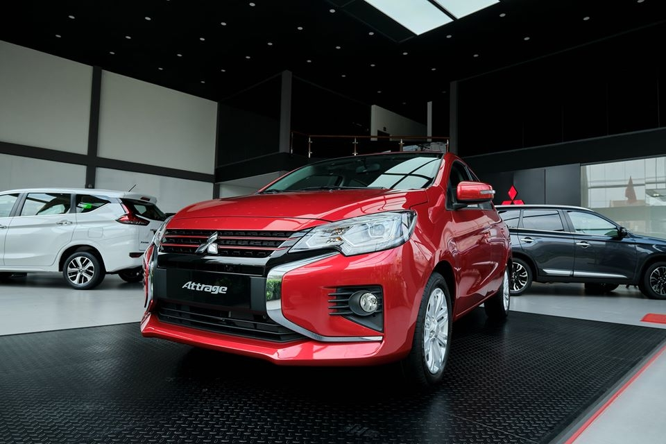 giá xe mitsubishi attrage 2020