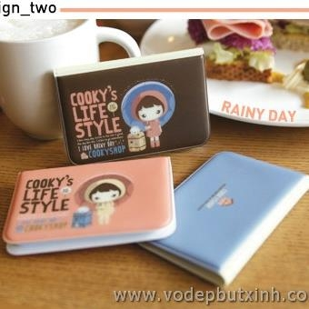 Sổ đựng card Cooky's life style K0569