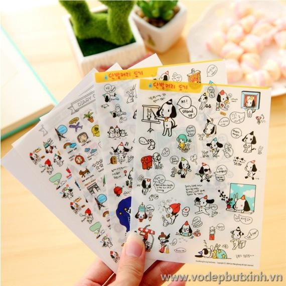 Bộ sticker Diary Deco K1598 25g