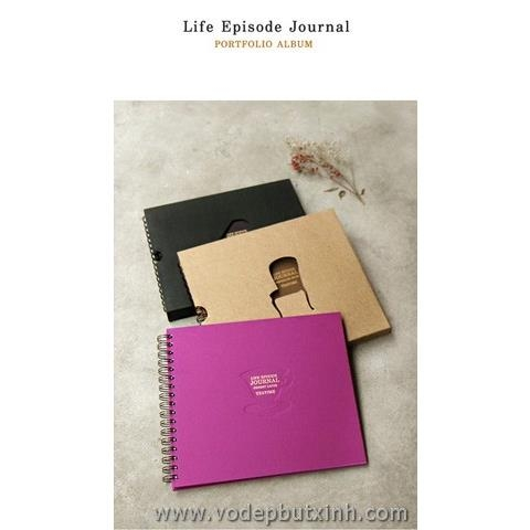 Album bìa khuyết Life Episode Journal K0530 520g