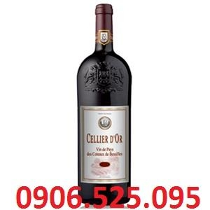 CELLIER D'OR  2010 – Red wine