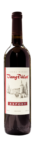 Vang Đà Lạt Export red wine 750ml