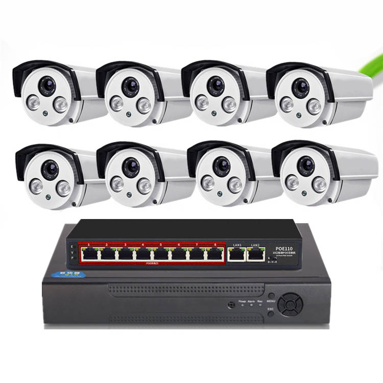 BỘ CAMERA IP POE