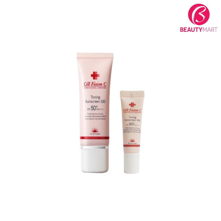 Kem chống nắng Cell Fusion C Toning Sunscreen 100