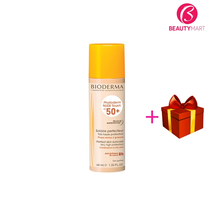 Kem chống nắng Bioderma Photoderm Nude Touch SPF 50+40ml