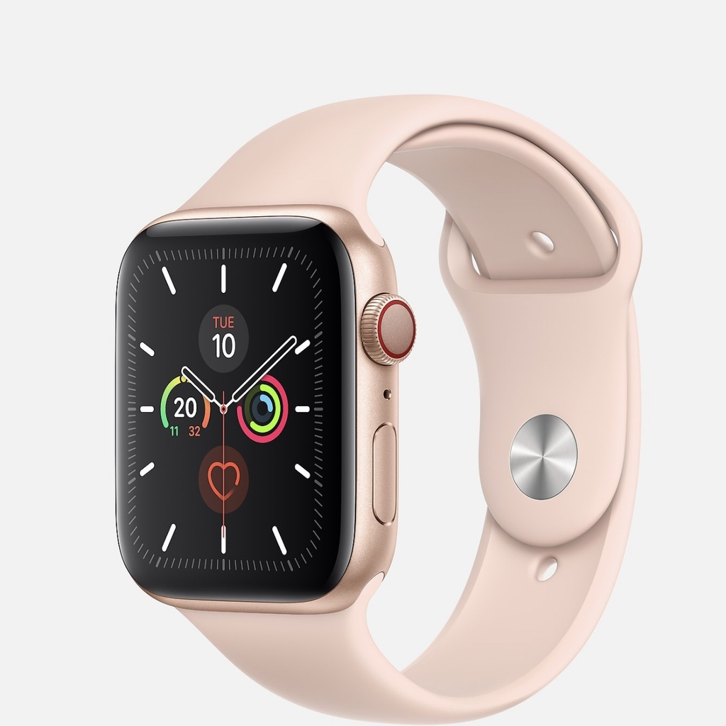 Apple Watch Series 5 Gold GPS + Cell - LikeNew Fullbox 99% (LL/A)