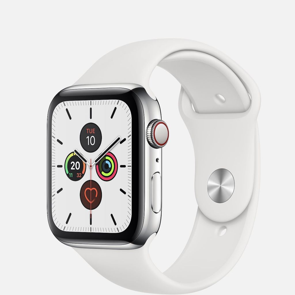 Apple Watch Series 5 White Stainless Steel Sport NewSeal