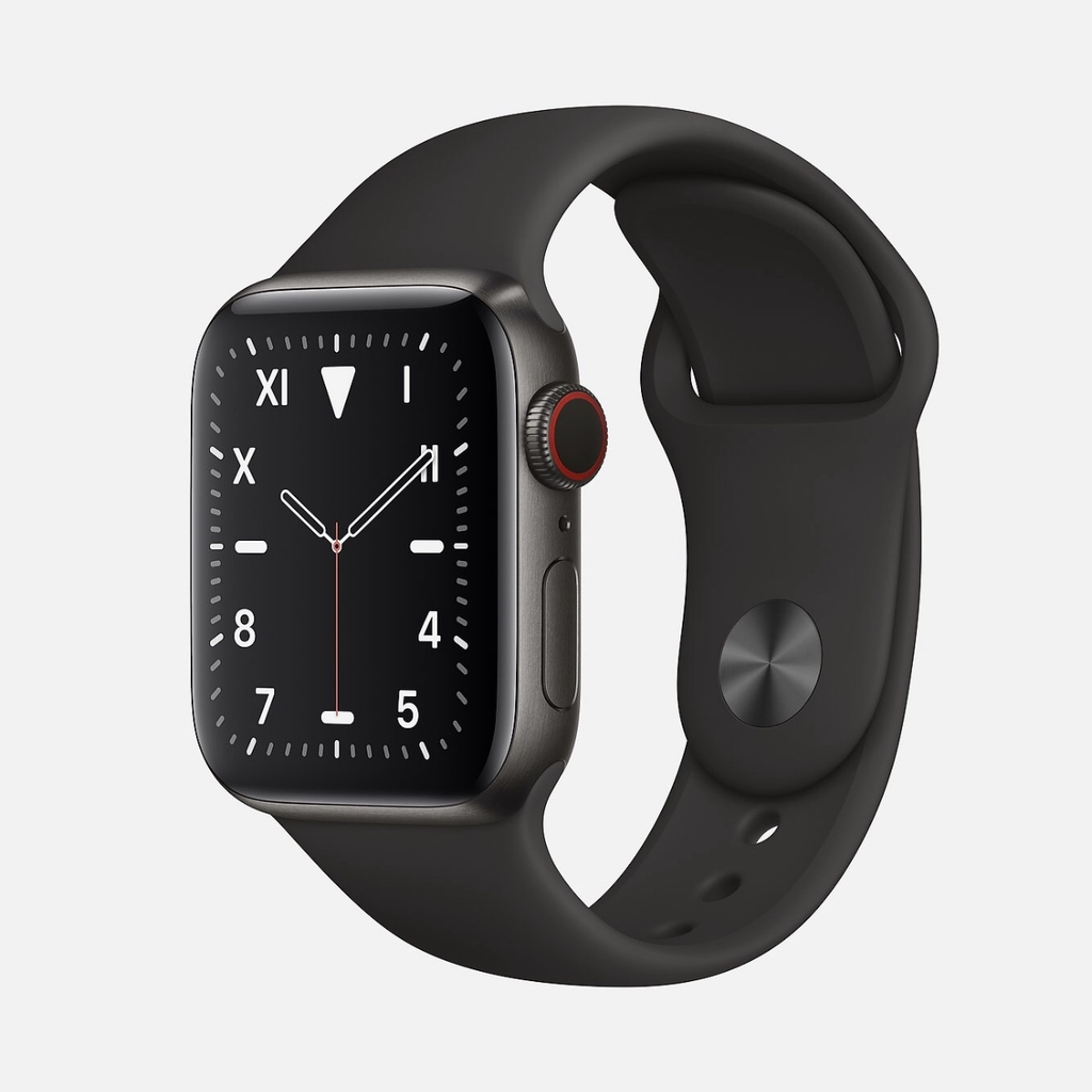 Apple Watch EDITION Series 5, Space Black Titanium with Sport Band