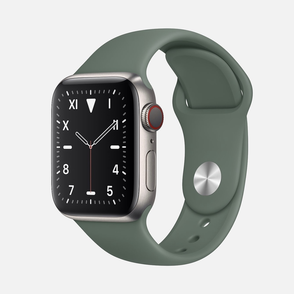 Apple Watch EDITION Series 5 Titanium with Pine Green Sport Band
