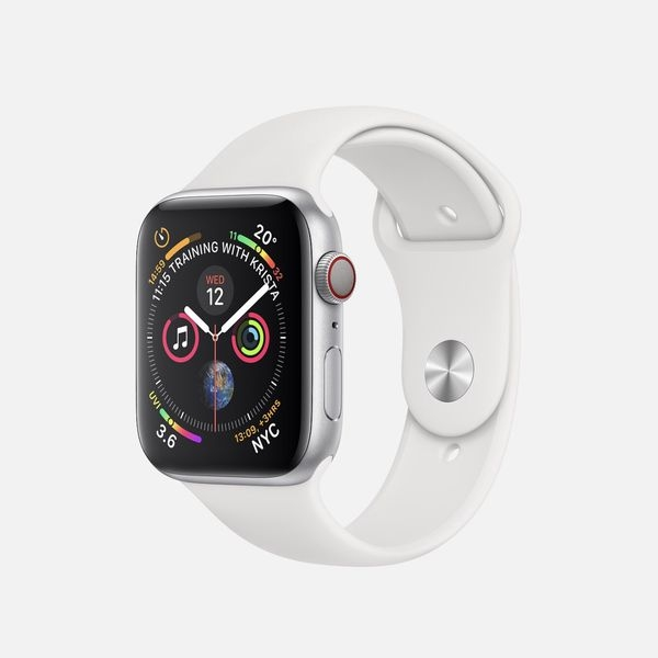 Apple Watch Series 4 GPS+CELL Aluminum Sliver Likenew Body