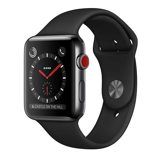Apple Watch Series 3 Thép Đen 42mm Sport NewSeal 100%