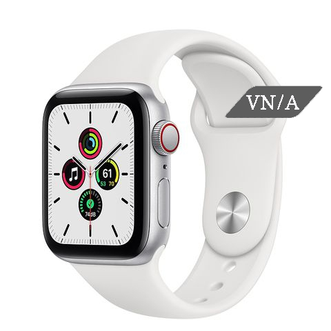 Apple Watch SE Silver GPS + Cell Chính Hãng VN/A New Seal (eSIM)