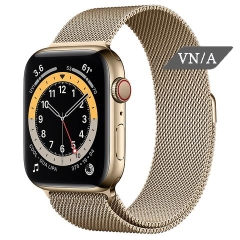 Apple Watch Series 6 Gold Stainless Steel Case with Milanese Loop Chính Hãng VN/A New Seal