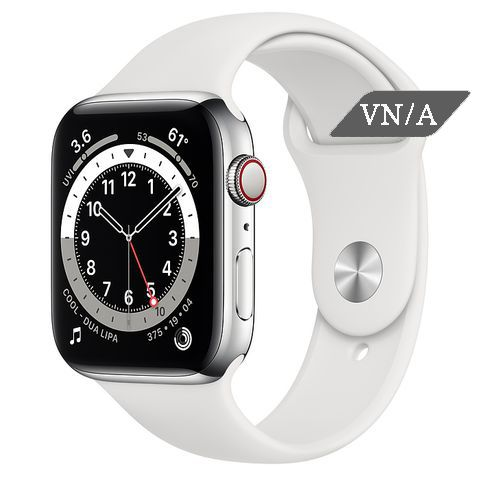 Apple Watch Series 6 Silver Stainless Steel Case with Sport Band Chính Hãng VN/A New Seal