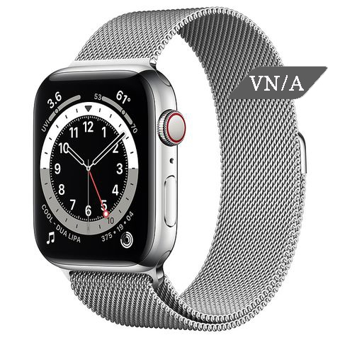 Apple Watch Series 6 Silver Stainless Steel Case with Milanese Loop Chính Hãng VN/A New Seal