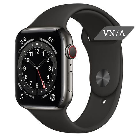 Apple Watch Series 6 Graphite Stainless Steel Case with Sport Band Chính Hãng VN/A New Seal
