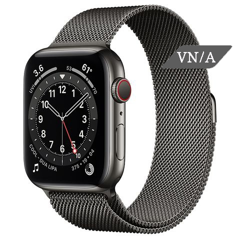 Apple Watch Series 6 Graphite Stainless Steel Case with Milanese Loop Chính Hãng VN/A New Seal
