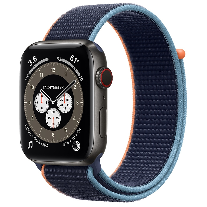 Apple Watch Series 6 Edition Space Black Titanium Case with Sport Loop New Seal